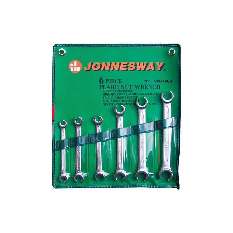 Juego de Llaves Niplera 8-19mm 6 Piezas W24106S Jonnesway MI-JON-31091