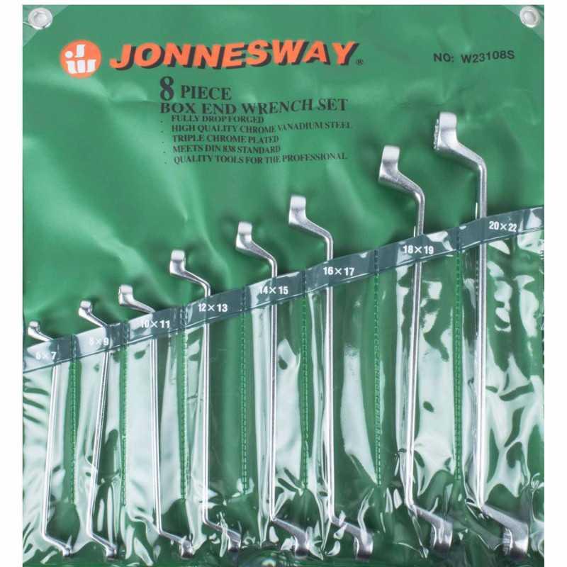 Juego de Llaves Acodadas 8 Piezas W23108S Jonnesway MI-JON-37047