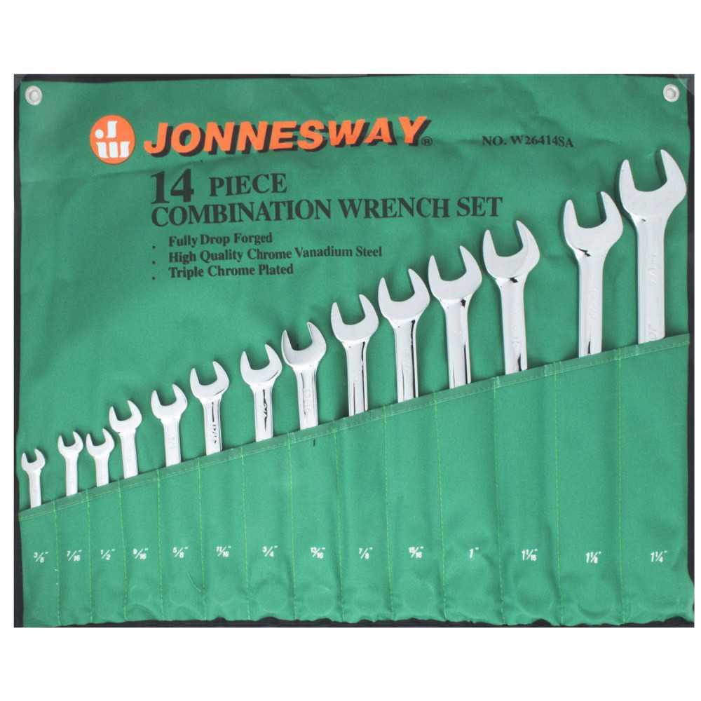 Juego de Llaves Punta Corona 14 Piezas W26414S Jonnesway MI-JON-37666