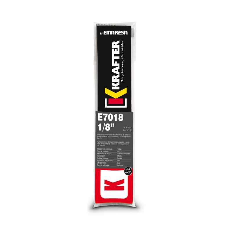 """Electrodo 5/32"""" (4.0mm) 1Kg E 7018 Krafter 4420000070184"""
