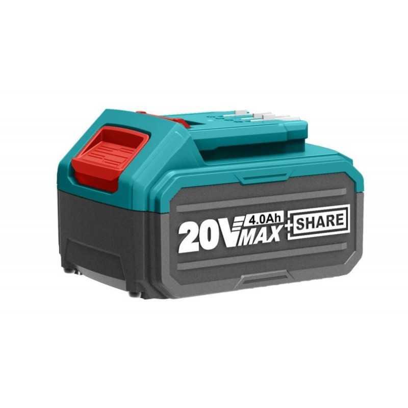 Batería Litio-Ion 20V 4.0Ah Total Tools TFBLI2002