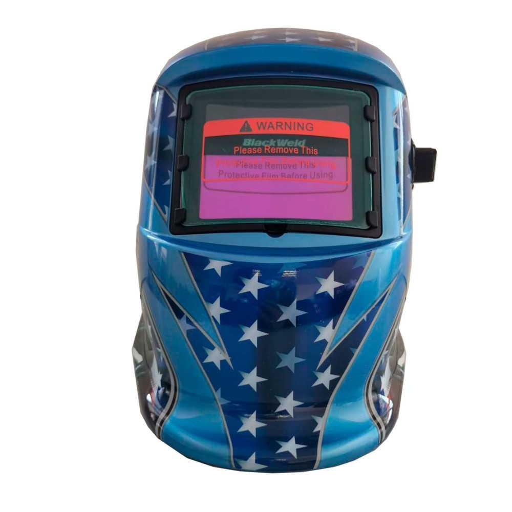 Máscara para soldar Fotosensible Diseño Águila 92x42 mm Blackweld BWM500