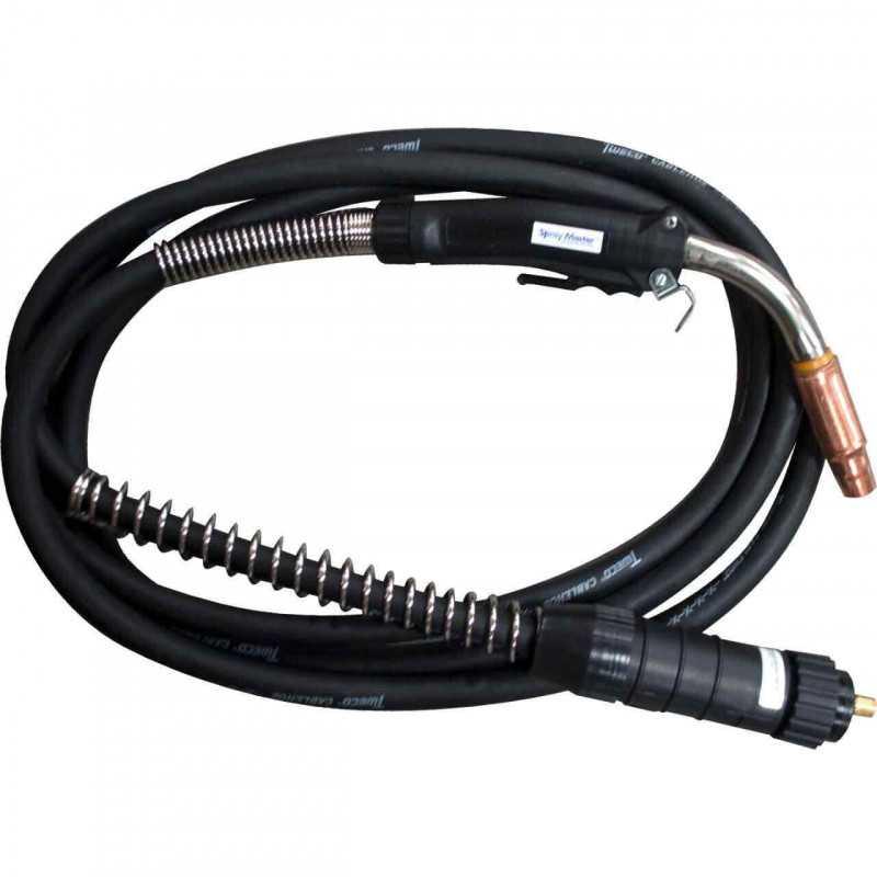 Pistola Mig 450A 5M Spray Master conexión Miller 1040-1062 Tweco MAI-111110240