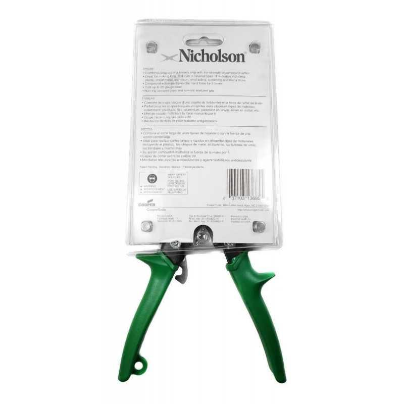 Tijera Hojalatera Multimax Corta Todo Nicholson N300