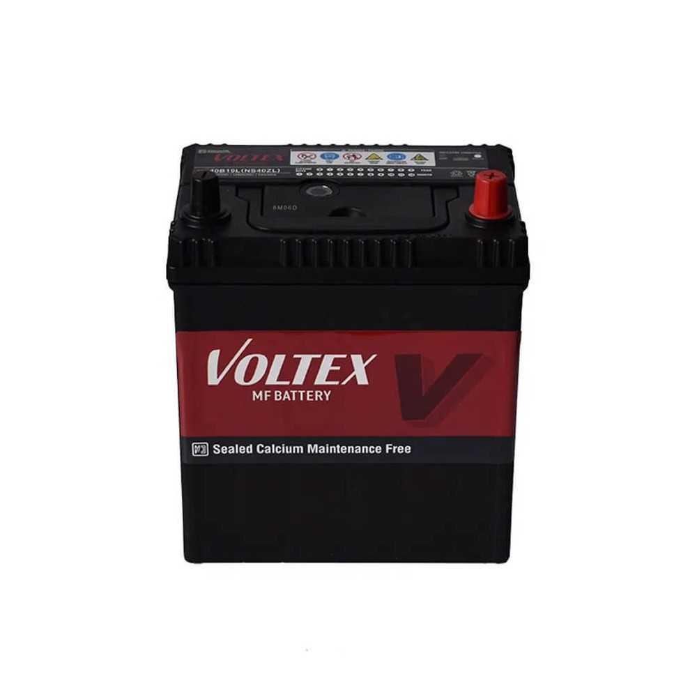 Batería de Auto 60AH Positivo Derecho CCA 550 N50ZL Voltex 601160