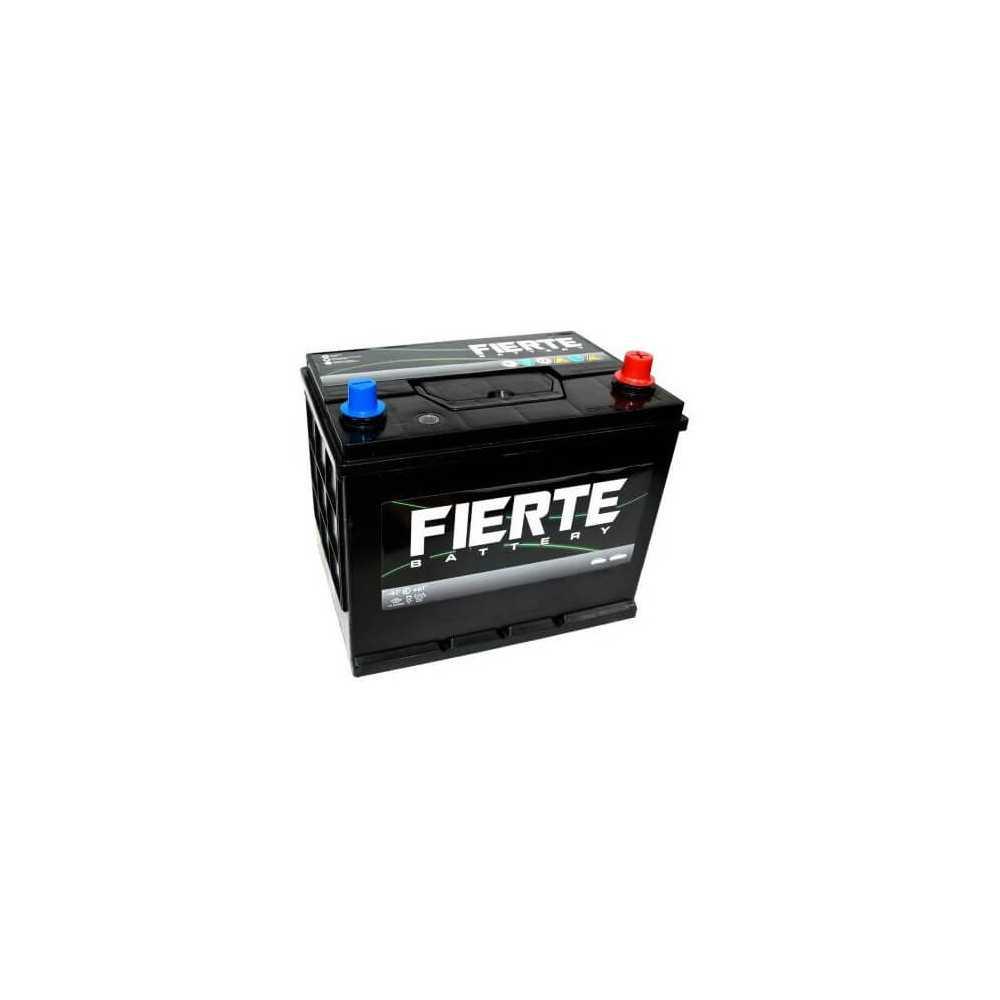 Batería de Auto 65AH Positivo Derecho CCA 415 75D23L Fierte 601199