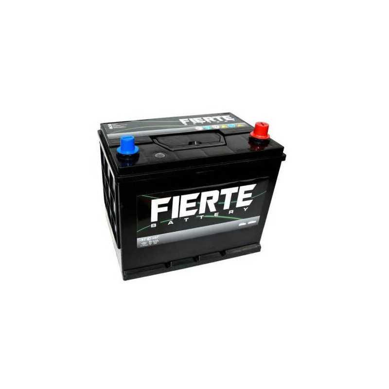 Batería de Auto 70AH Positivo Derecho CCA 425 N50 NX110 Fierte 601253