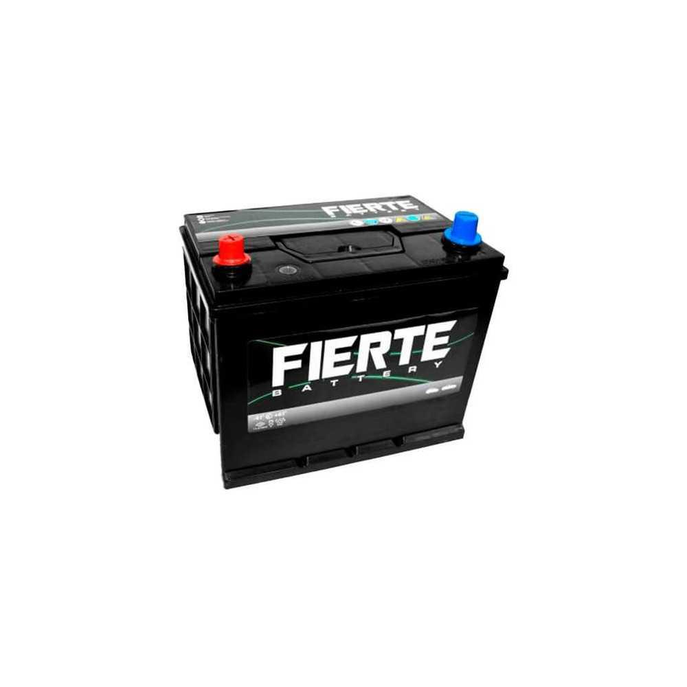 Batería de Auto 90AH Positivo Izquierdo CCA 625 N70 NX120 Fierte 601202