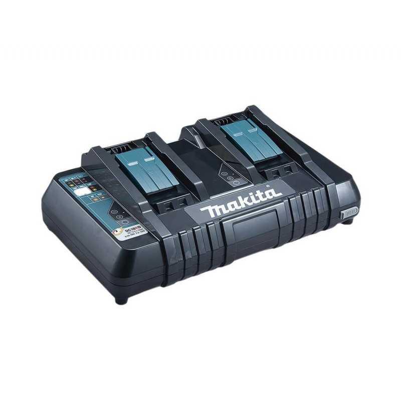 Cargador de Batería Doble Rápido 18V DC18RD Makita 630868-6
