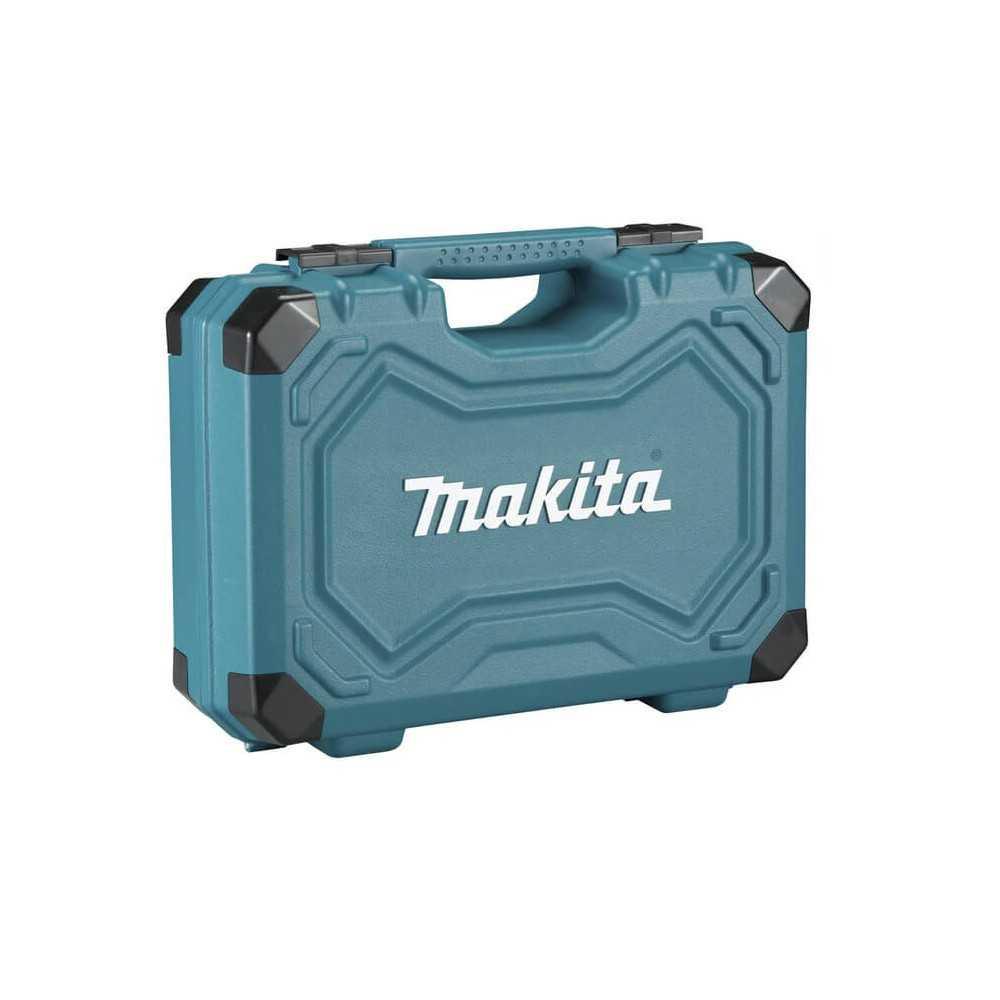 Set Herramientas Manuales con Maleta 87 Pzs Makita E-08458
