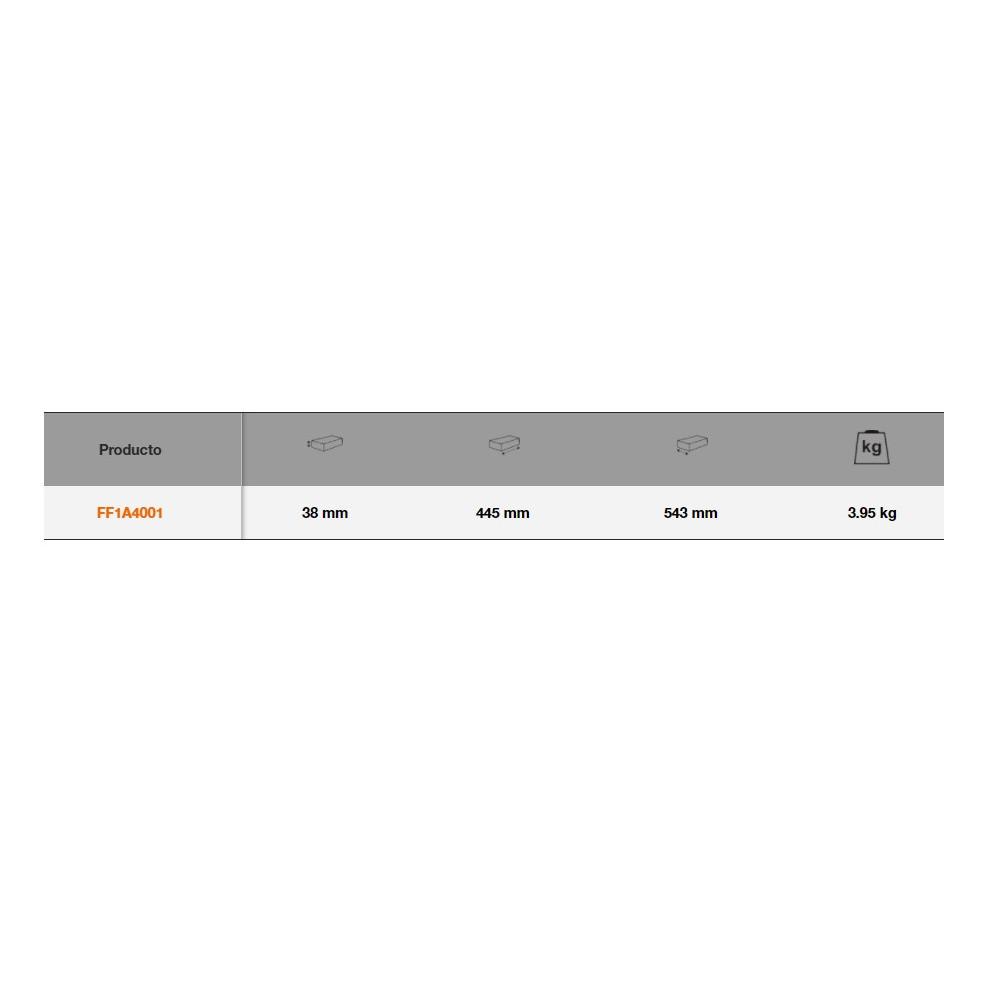 Juego de Alicates 12 Pzs en bandeja de foam 3/3 Fit&Go Bahco FF1A4001