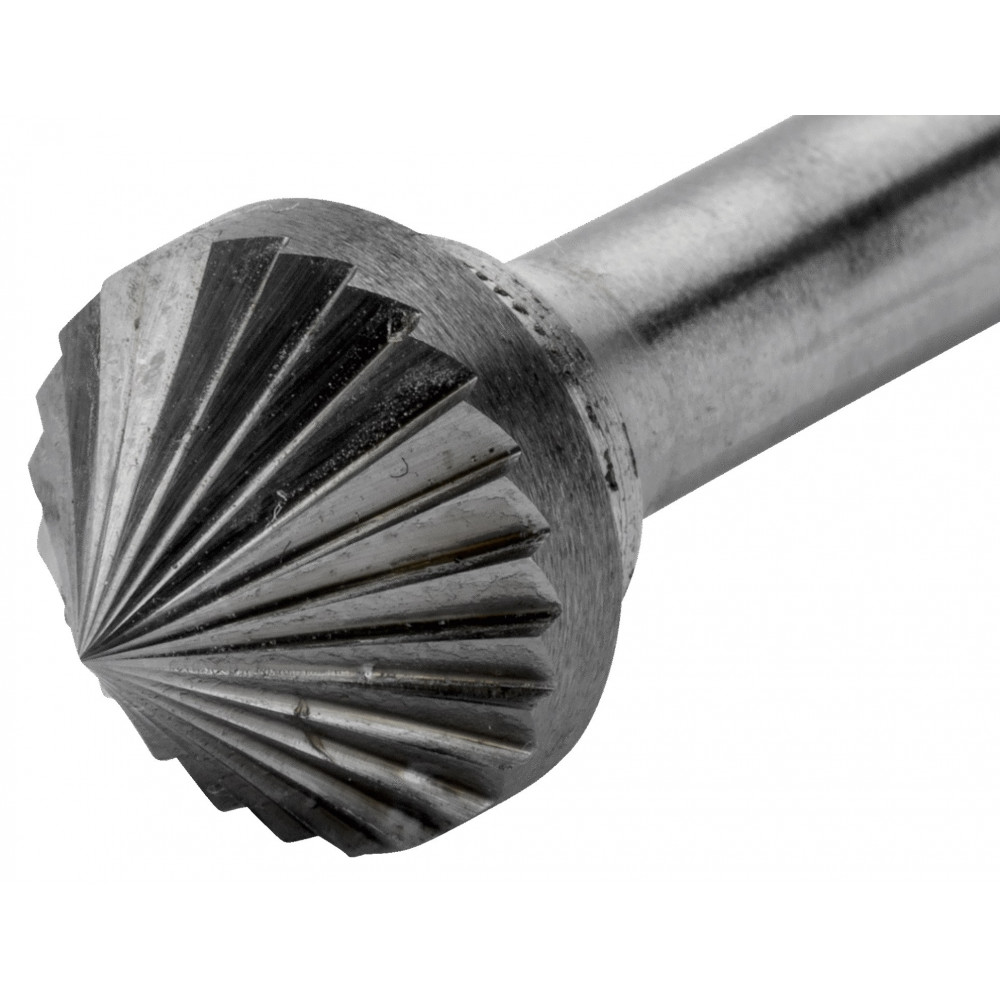Lima Rotativa Cónica 90° 10x8mm para metal Bahco K1008M06X