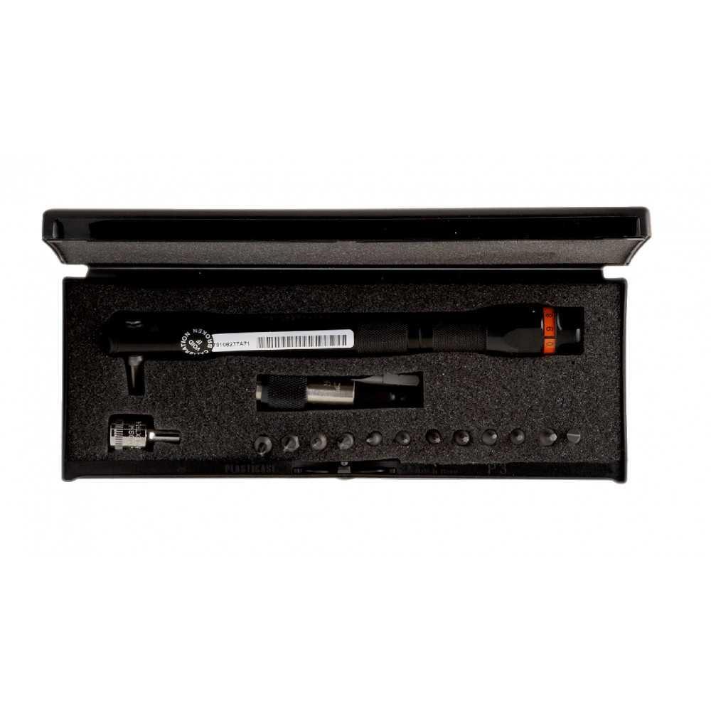 Set Llave de Torque Mini Dinamométrica Ajustable con Punta Fija 17 Pzs Bahco 6852-5/S17
