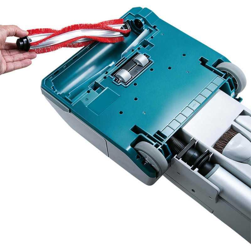 Aspiradora Inalámbrica Vertical 5Lt 36V + 2 Baterías 18V 5 Ah + Cargador Makita DVC560PT2