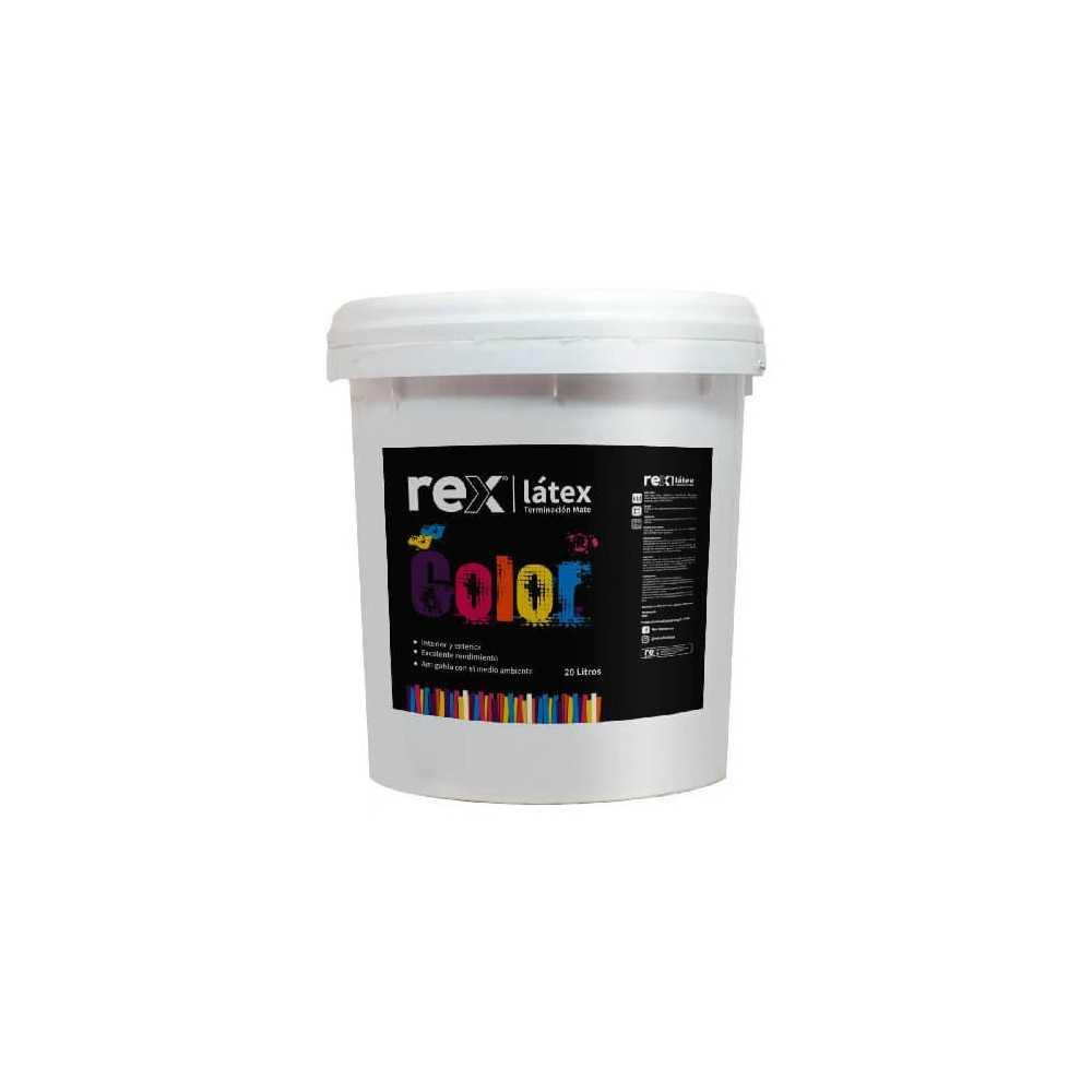 Pintura Látex Blanco, Tineta Rex 60127