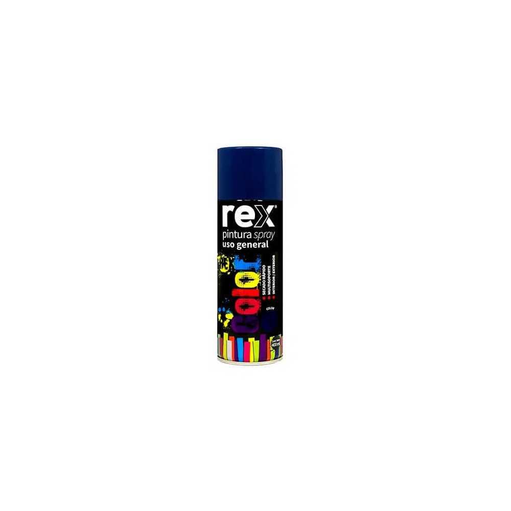 Pintura Spray uso General Azul Oscuro 400 ml Rex 60005