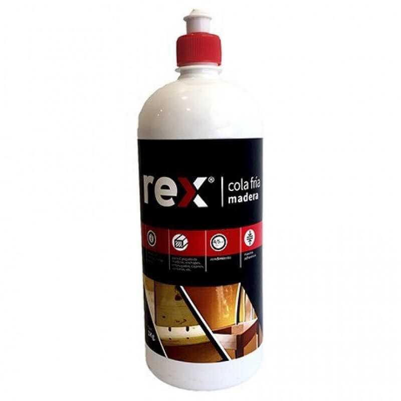 Cola Fría Madera, Frasco Dosif. 1 kg Rex 30312