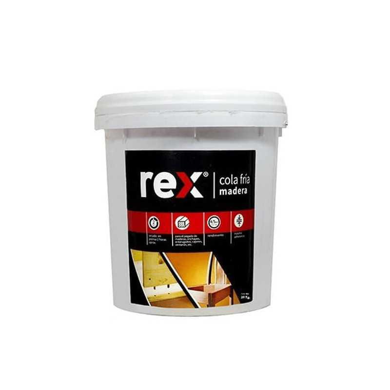 Cola Fría Madera Tineta 20 kg Rex 30314