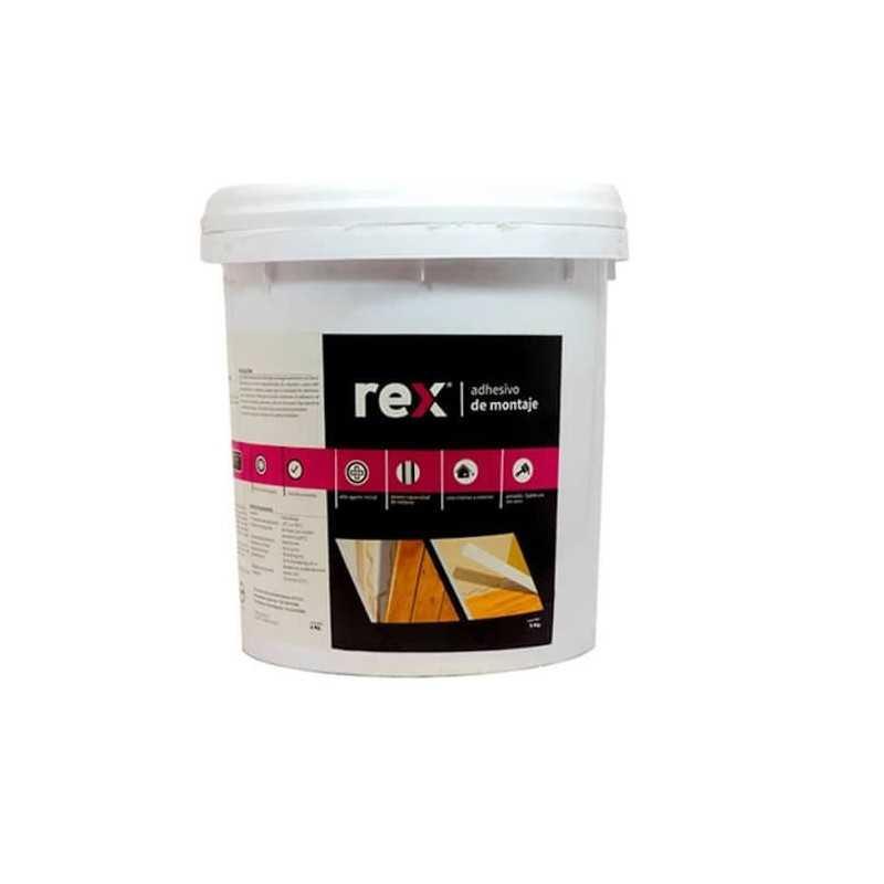 Adhesivo de Montaje Balde 5 kg Rex 30331