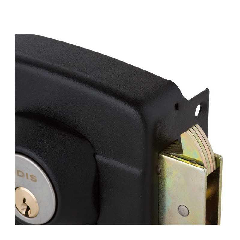 Cerradura Sobreponer Negra 391 Linea-300 Odis CEP0000713