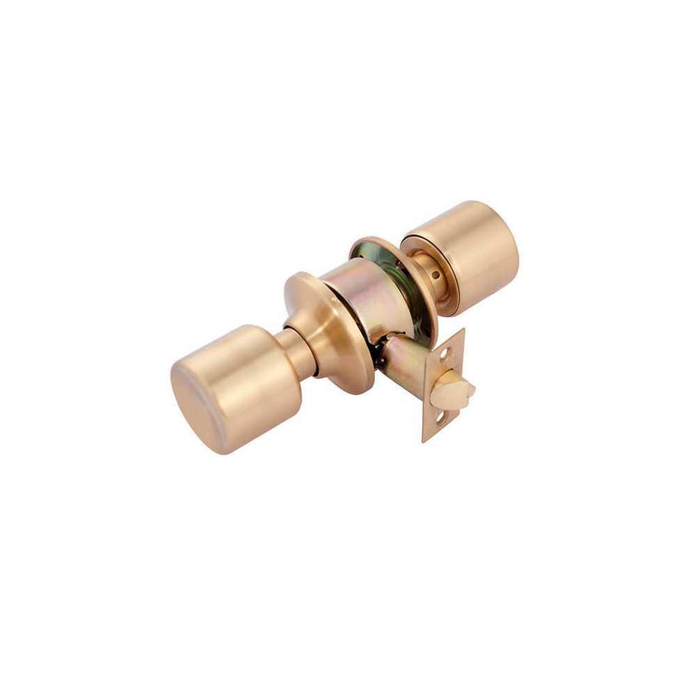 Cerradura Cilíndrica Acceso Bronce Satinado 205 - Linea 205 Odis CEP0000042