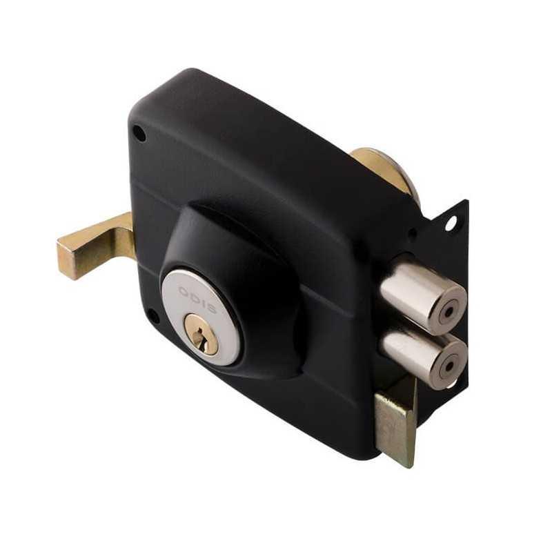 Cerradura Sobreponer Negra 324 - Linea 300 Odis CEP0000712