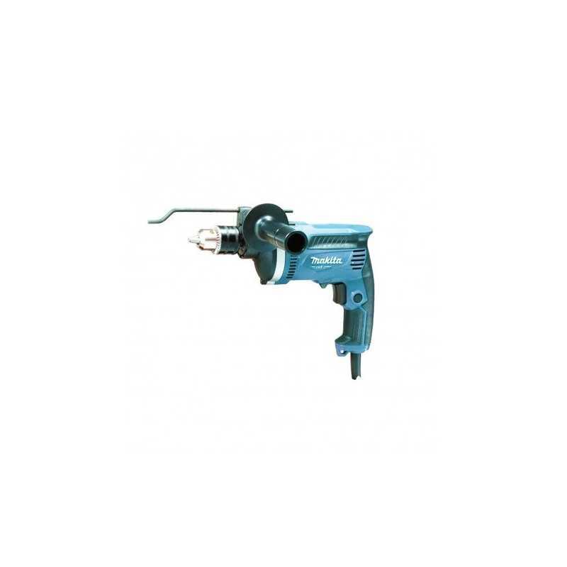 Taladro percutor 13 mm. 710W. 0-3200 r.p.m. Veloc. Variable. Reversible C/maleta Makita M8100KG