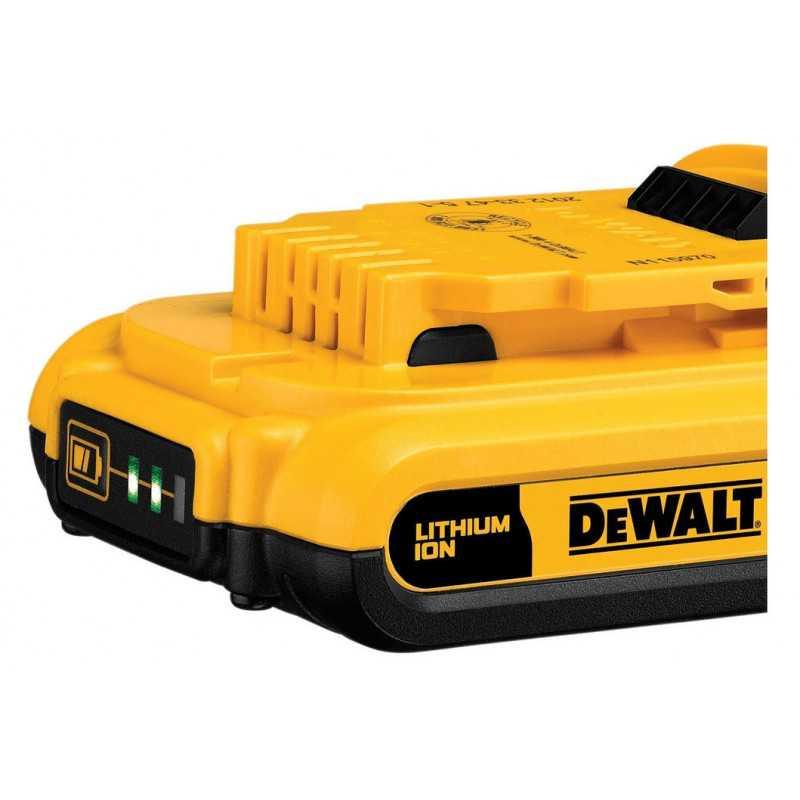 Batería Ion De Litio 20v 2,0 Ah DeWalt DCB203-B3
