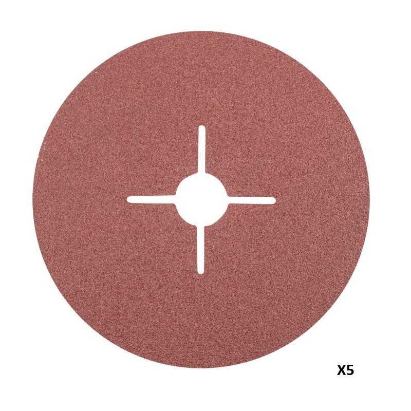 Set Discos Lija 180mm Grano 40 5 Pzs Makita P-01052