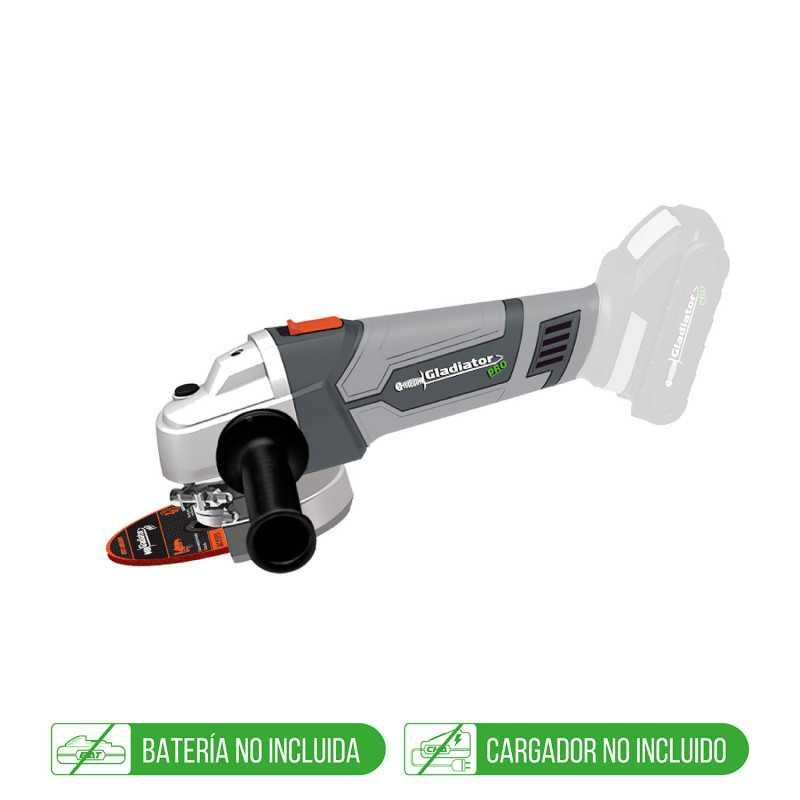 """Kit Esmeril 4-1/2""""+Taladro Percutor+ Batería + Cargador Gladiator COMBO-9"""