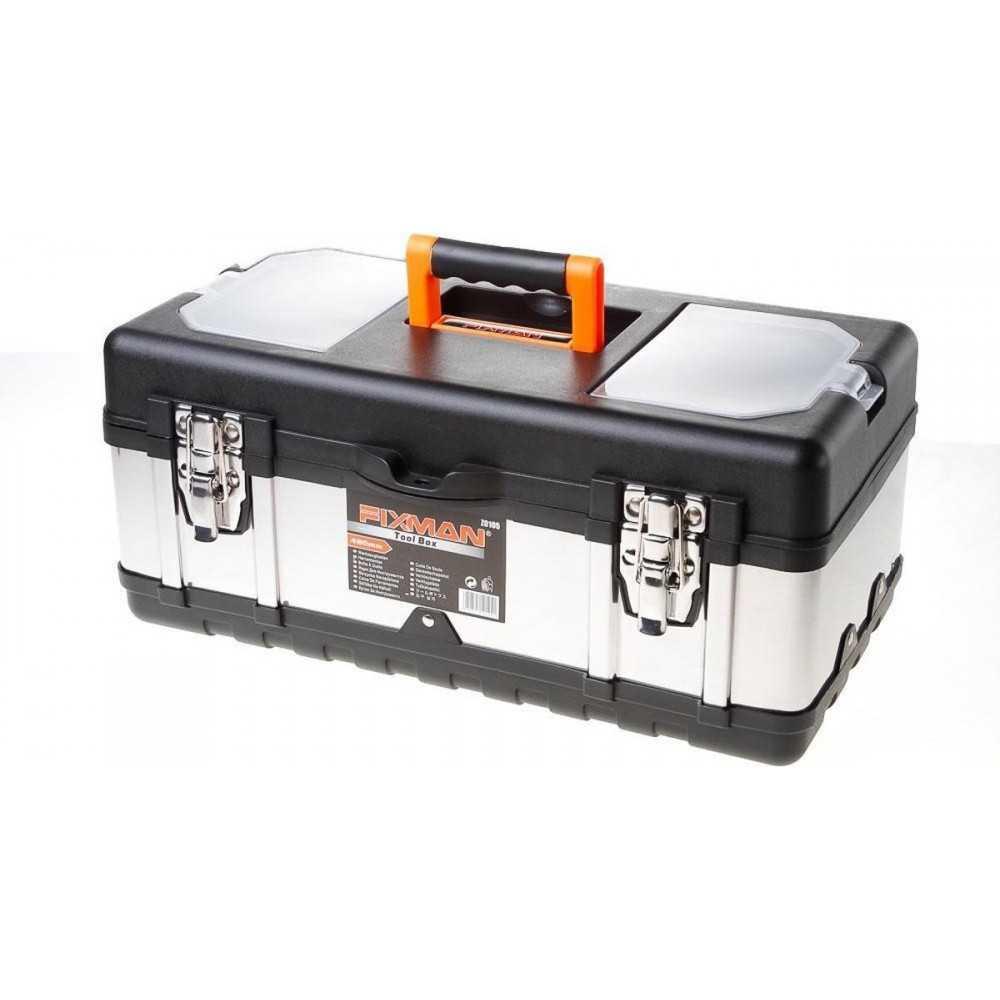 "Caja de herramientas Metálica 19"" Fixman Z0105"