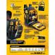 Mochila Industrial 43 Litros Multiuso DeWalt DWST98016-LA