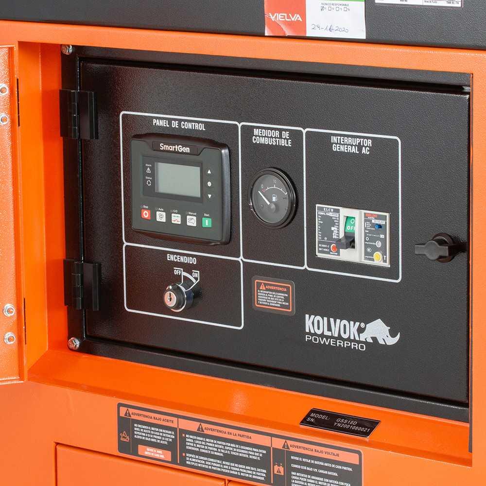 Generador Eléctrico Diesel Insonorizado Monofásico 17.000W GSS18D Kolvok 305011010