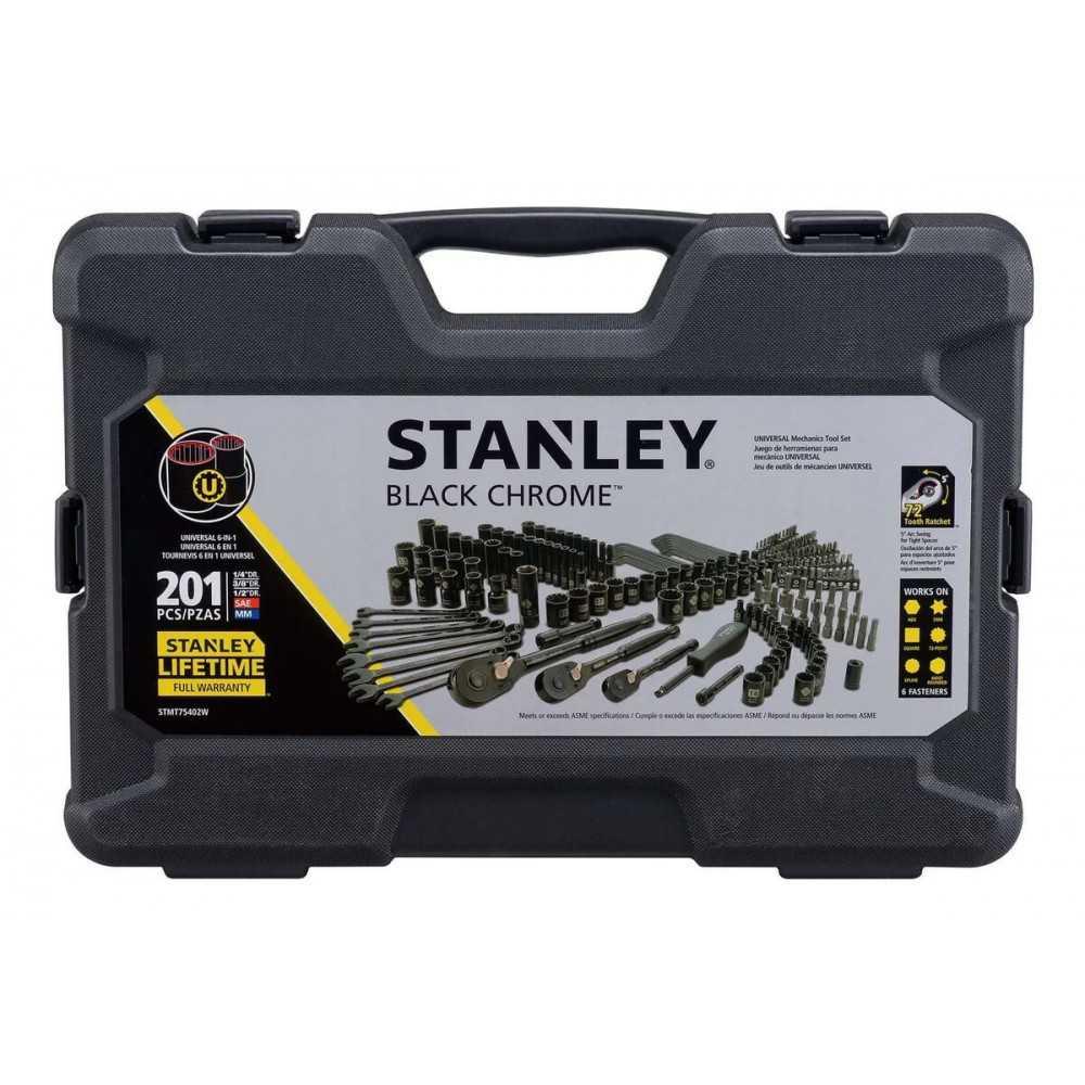 Set Accesorios 201 Pzas Stanley STMT75402W