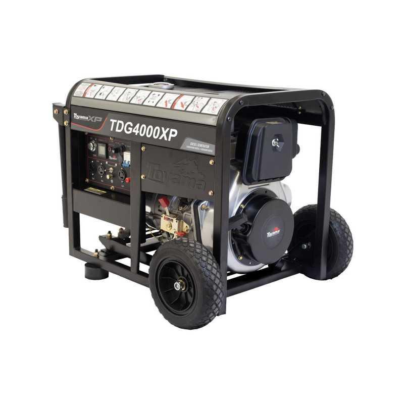 Generador Eléctrico Diésel Partida Eléctrica 3.0 KW TDG4000E-XP Toyama 251-067C