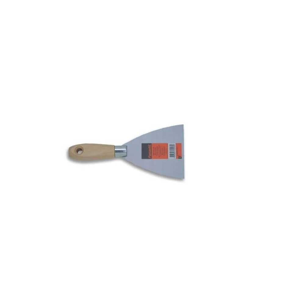 Espátula de Acero Mango de Madera Modelo Económico 10 cm Famastil HKDI-012