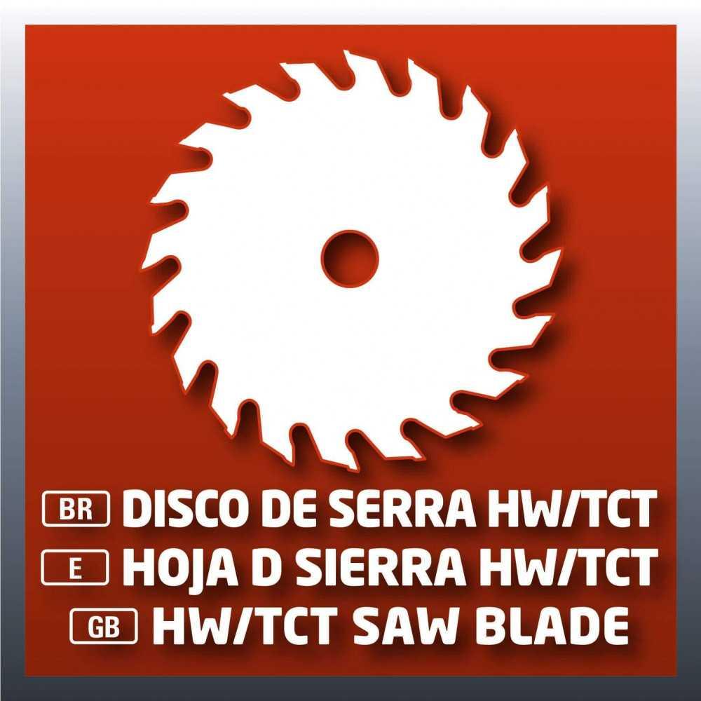 Sierra Circular 1500 W Einhell TH-CS 1600