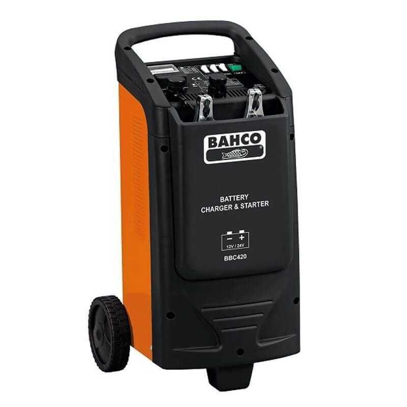 Cargador de Batería arrancador de baterias 12/24V Bahco BBC420