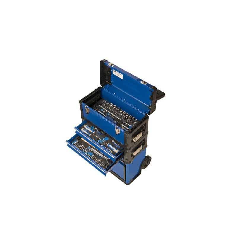 Carro Porta herramientas Con Cajas Apilables Sobre Ruedas - 93 PIEZAS Irimo 9021FTW520FF1
