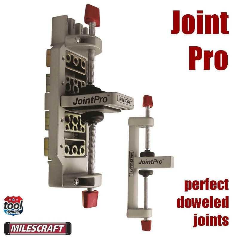 Guía para poner tarugos JointPro Milescraft 1361
