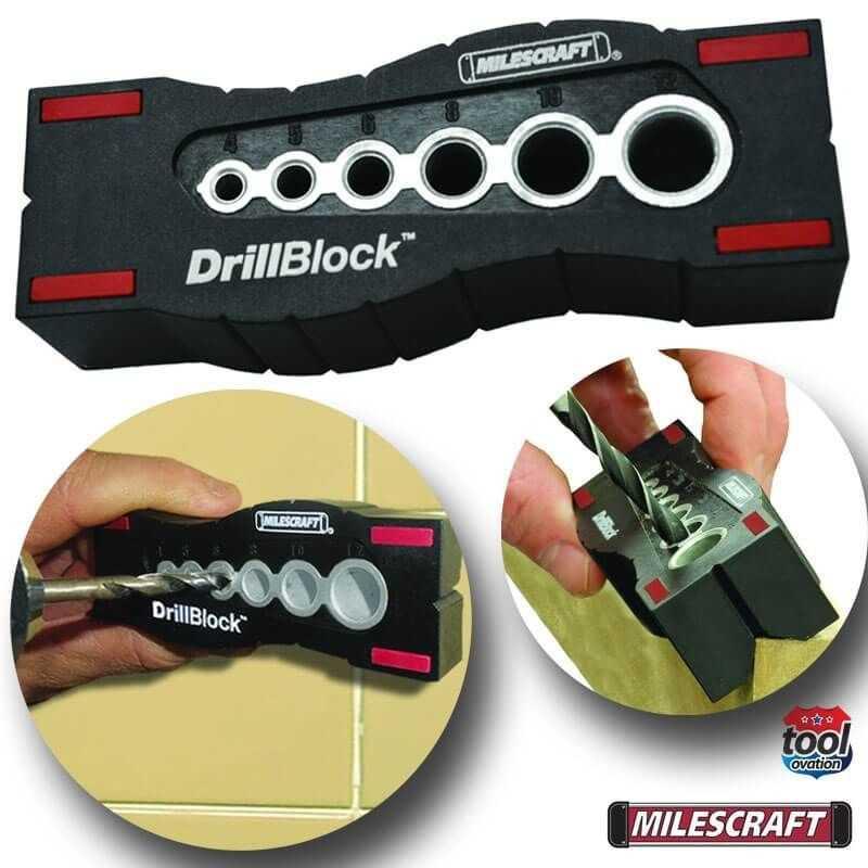Bloque de Perforación DrillBlock Milescraft 1362