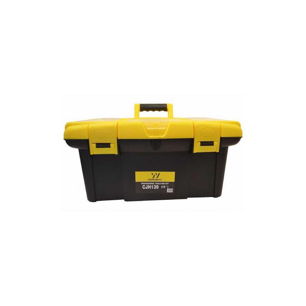 """Caja de herramientas plástica, 19"""" + 13"""" UyusTools CJH139"""