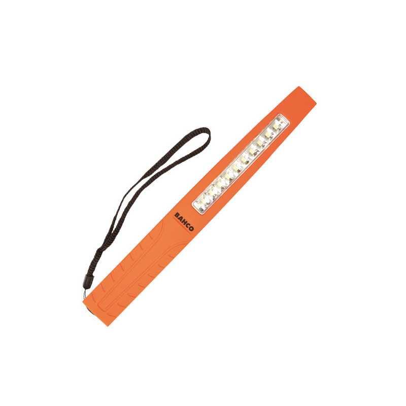 Lámpara - Linterna extra delgada con tecnología LED SMD y base imantada Bahco BLTS10