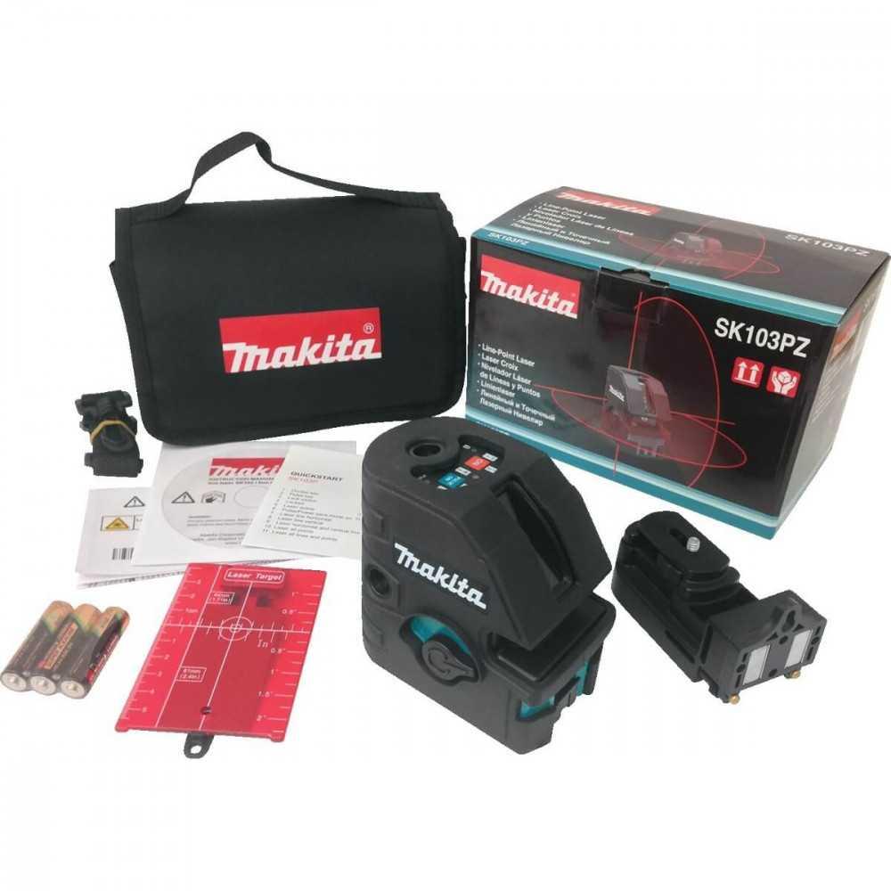 Nivel Laser Auto-Nivelador Makita SK103PZ
