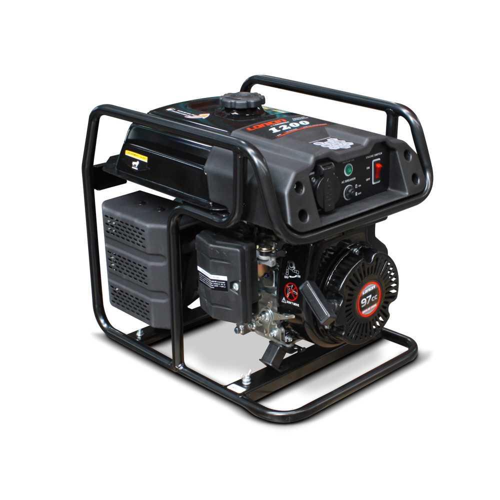 Generador Eléctrico Gasolina de 1 Kva Loncin LC1200F