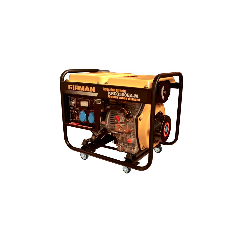 Generador Eléctrico Diesel de 3,5 Kva 220V Partida Eléctrica Krafter KRD3500EA-M