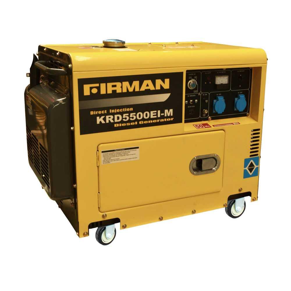 Generador Eléctrico Diesel de 5 Kva 220V Partida Eléctrica Krafter KRD5500EI-M ATS