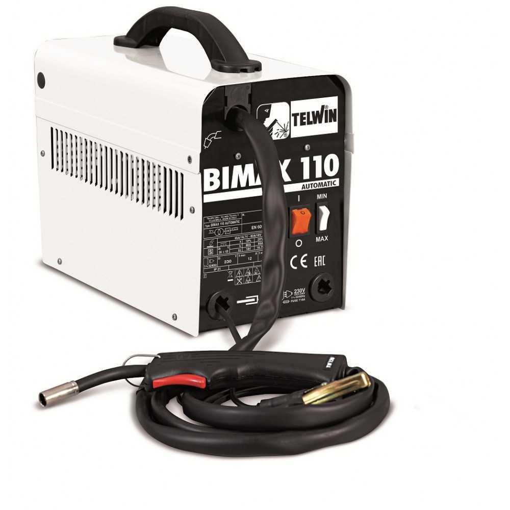 Soldadora Mig 200 A Telwin Bimax 110