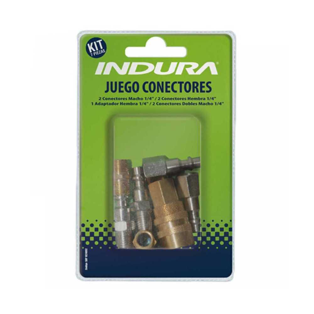 Juego de Accesorios Conectores (7 Pcs) Indura 1024092
