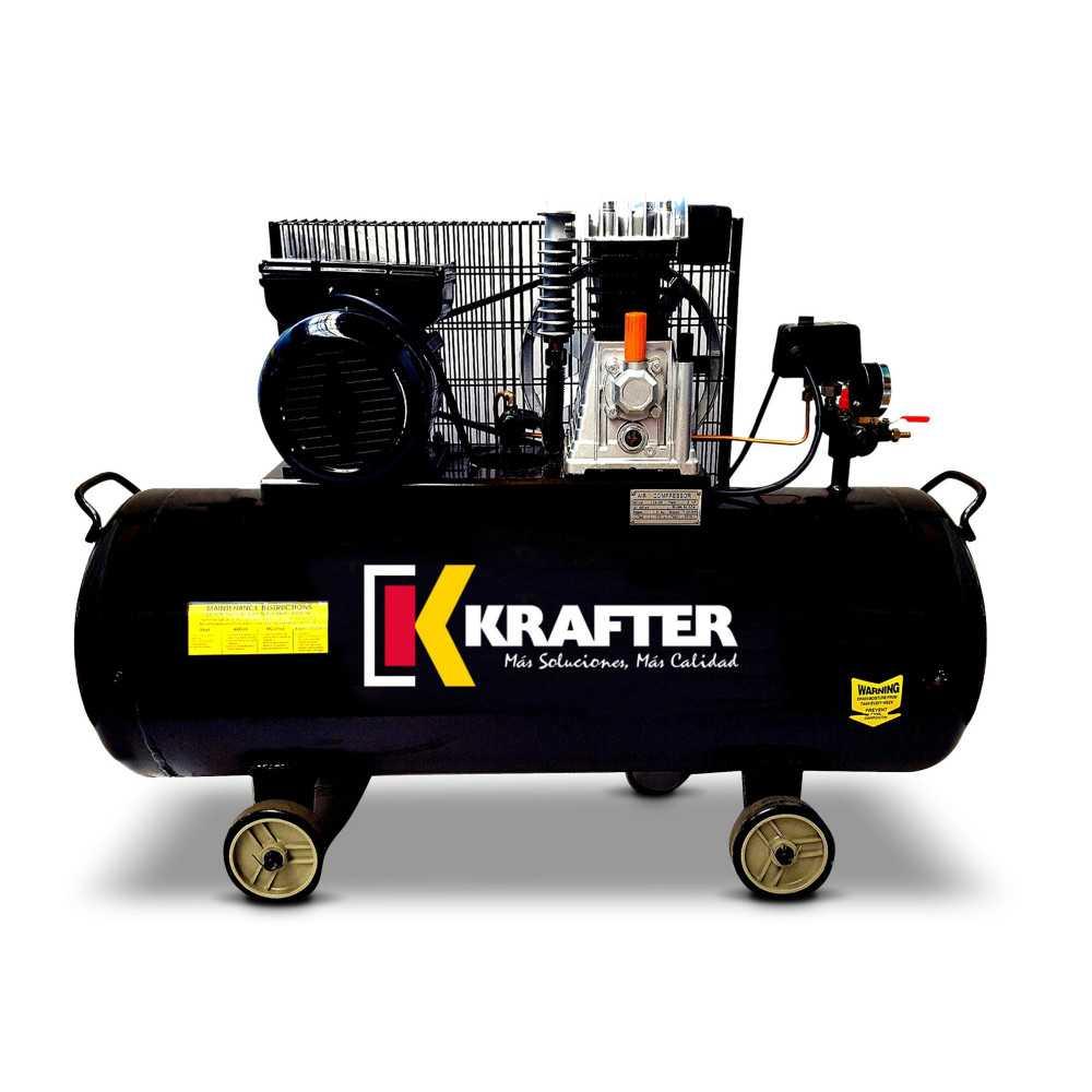 Compresor de aire 3 HP - ACK 100 Lts. 220V Krafter 4449000010030